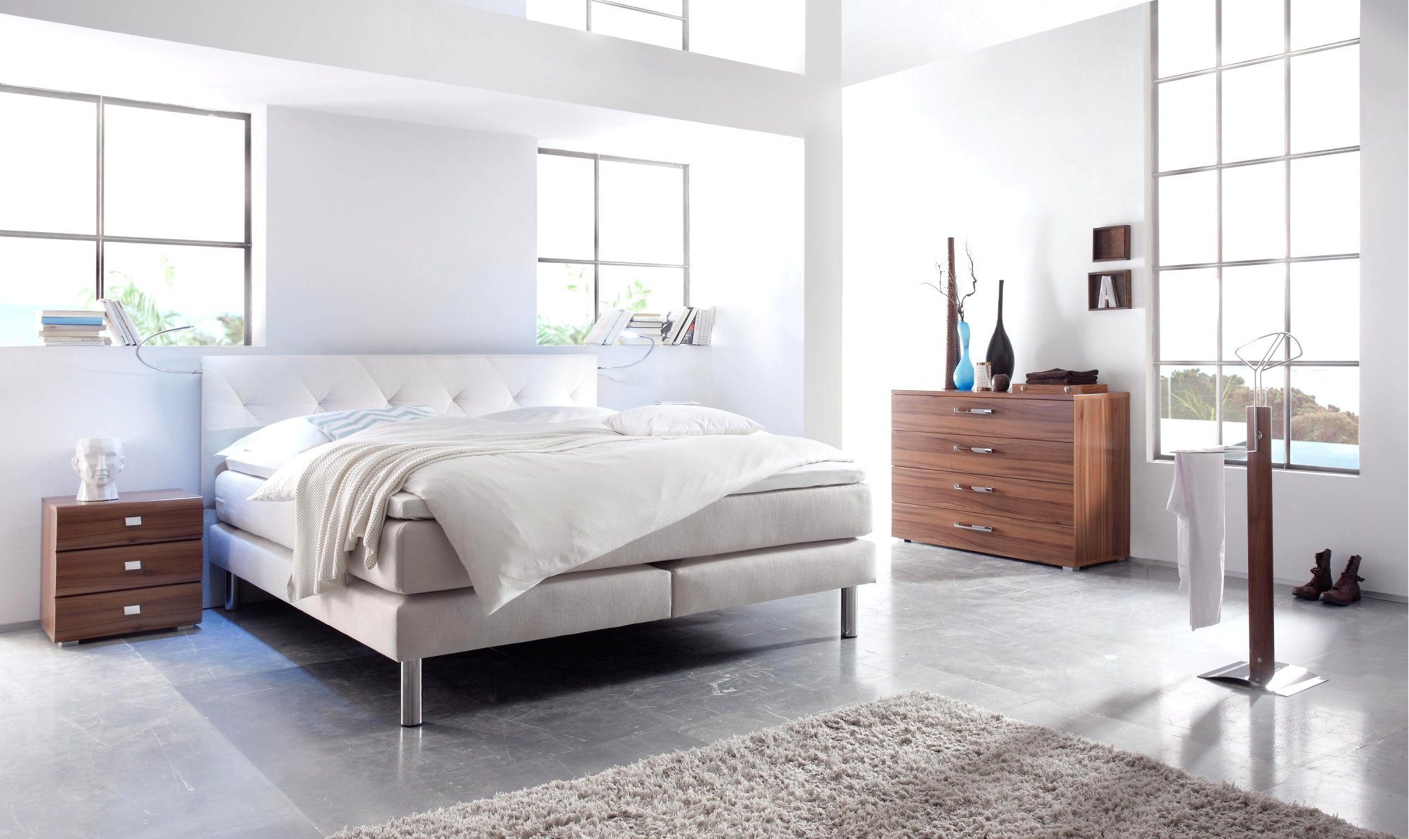 schlafzimmer boxspring moebelhuus zetzwil. Black Bedroom Furniture Sets. Home Design Ideas